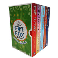 Terry Pratchett Collection Discworld Series 16-20 Books Gift Wrapped Box Set New