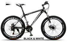 Brand New 2017 Cyber  Aluminium Frame Black&White 26 inch Z300   Mountain bike