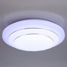 24W LED Ceiling Down Light Flush Mount Lighting Living Room Kitchen Bathroom UK