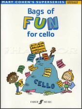 Mary Cohen's Bags of Fun for Cello Sheet Music Book Absolute Beginner