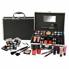33 PIECE VANITY CASE BEAUTY COSMETIC SET GIFT MAKE UP STORAGE BOX VALENTINES DAY