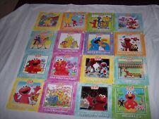 Sesame Street Elmo's Learning Adventure Book Lot of 16 ~ # 9 Sealed