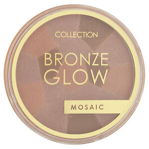 COLLECTION Bronze Glow Mosaic Sunkissed Bronzer - Shimmering Radiant Highlighter