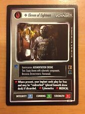 Star Trek CCG The Borg 53C Eleven of Eighteen X2 NrMint-MINT
