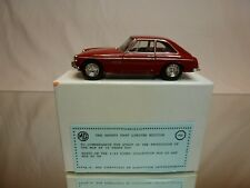 DINKY TOYS DY CODE 3 MODEL PROMO - MGB GT V8 1973 - SAFETY FAST LIMITED EDITION