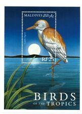 VINTAGE CLASSICS - Maldives 2477 - Birds of the Tropics Cattle Egret - S/S - MNH