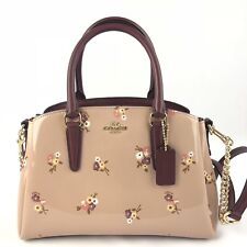COACH F31395 SAGE CARRYALL WITH BABY BOUQUET PRINT BEECHWOOD MULTI/LIGHT
