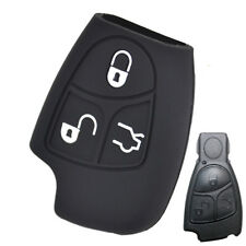 Silicone Car Key Cover Case Fob For MERCEDES BENZ CLS SL C E S CLASS Shell