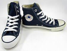 Converse Shoes Chuck Taylor Hi All Star Navy Blue Sneakers Men 5 Womens 7