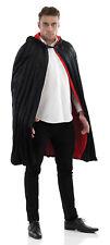Negro De Hombre Disfraz Capa Vampiro Drácula Capa Disfraz Halloween