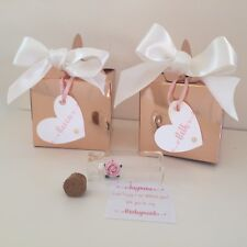 Will You Be My Bridesmaid Proposal Box - Personalised Wedding Gift - Bundle Of 4