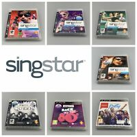 Singstar PS3 Games - Pick One Or Make A Bundle - 80's, Ultimate Party, Queen