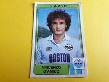FIGURINA ALBUM CALCIATORI PANINI 1984/85 n°160 D'AMICO LAZIO rec