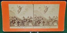 Antique Stereoview Card - '24 Ascension De Jesus'