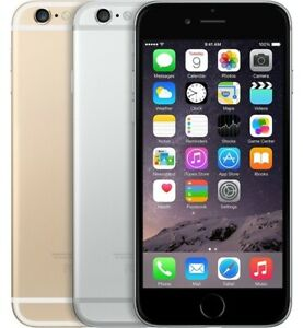 Apple iPhone 6 16GB/32GB/64GB - Unlocked - Various Colors - Space Silver Gold