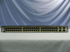 Cisco Catalyst Ws-C3750G-48Ts-S 48-port Ethernet Switch, iOs 12.2