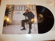 BILLY PAUL - Lately - Scarce 1985 German 10-track vinyl LP