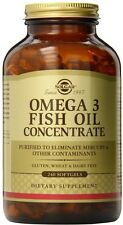Omega-3 Fish Oil Concentrate, Solgar, 240 gelcap