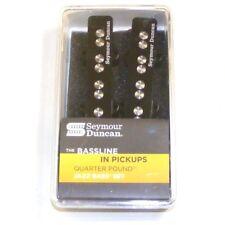 Seymour Duncan Quarter Pounder set of Jazz Bass Pickups, Black 11402-56