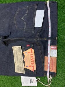 LEVIS VINTAGE CLOTHING LVC 501XX 1955 MADE IN USA SELVEDGE (W32 L32) WITH 01 BEG