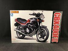 Aoshima 1984 Honda CBX400FII Naked Bike 1:12 Scale Plastic Model Kit 046272 NIB