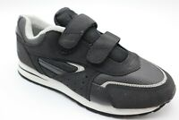 ATHLETIC WORKS MENS ATHLETIC RUNNING SHOES SIZE 7.5 COLOR BLACK MENS SPORTS SHOE