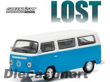 GREENLIGHT 1:64 1971 VW VOLKSWAGEN Type 2 BUS VAN BLUE TV LOST 44720E SERIES-12