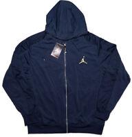 NIKE AIR JORDAN 13 Retro Full-Zip Hoodie Jacket 519610 Blue Large L ~ New