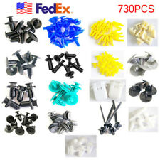 730 PCS 17 SIZES CAR AUTO CLIPS FOR DOOR PANEL BUMPER TRUNK US STOCK FEDEX SHIP