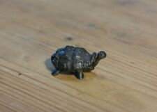Tortoise, miniature cast solid bronze sculpture David Meredith
