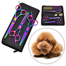 Professional Pet Grooming Scissors Set Dogs Hair Cutter Cutting Thinning Shears