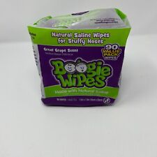 Boogie Wipes Value Pack Grape Scent 90 Wipes