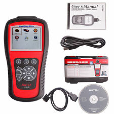 Autel MaxiDiag Elite MD802 OBDII Tool Scanner Code Reader 4 System For EU US AS
