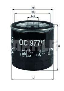 Ölfilter KNECHT OC 977/1 Anschraubfilter für VW AUDI SEAT SKODA A3 A1 B9 A4 POLO