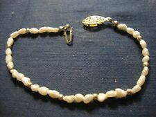 Real Pearls Chunky Bracelet Grandmas Estate Beautiful Oriental