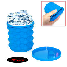 1PC Silicone Ice Bucket Frozen Ice Cube Mold Insulation Fast Ice Maker Machine