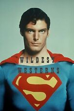 CHRISTOPHER REEVE rare candid photo SUPERMAN outifit