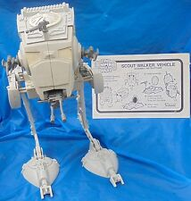 Star Wars Empire Strikes Back AT-ST Scout Walker Complete + Instructions Kenner