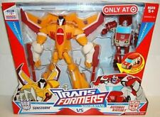 Transformers Animated Voyager SUNSTORM vs Activator RATCHET NEW – Rare
