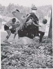 """*POSTCARD-""""The Lion's Head (Water) Fountain"""" ...Classic-Story Land Glen, NH(#76)"""