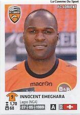 N°165 INNOCENT EMEGHARA # SUISSE FC.LORIENT VIGNETTE STICKER  PANINI FOOT 2013
