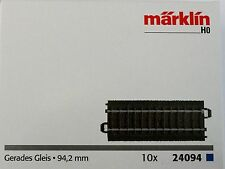 New! Marklin C Track 24094 1/2 Straight Piece 94mm  Fast Low Cost USA Shipping!