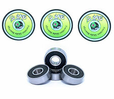 Scooter Bearings Pack of 4 Titanium Slime ABEC9 608RS Bearings