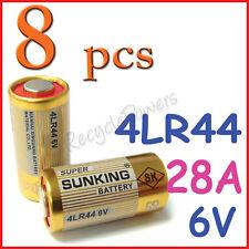 8 Alkaline Battery 28A 6V 4LR44 4NZ13 4G13 V34PX 544