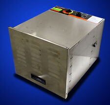 New Commercial Stainless Steel 10 Trays Fruit Jerky Food Dehydrator Dryer