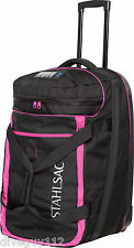 Stahlsac Jamaican Smuggler Scuba Diving Roller Travel Gear Bag Pink New