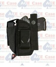 """BERSA THUNDER 9 PRO XT 4.96/"""" BBL FULLY LINED EXTRA MAG HOLSTER BY ACE CASE"""