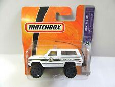 Matchbox Superfast No.74 Chevy Blazer - Park Ranger - Mint/Boxed