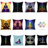 CG_ PW_ BG_ JT_ Fashion Yoga Soft Cushion Cover Throw Pillow Case Home Sofa Car
