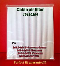 C25836 PREMIUM Cabin Air Filter For VUE TERRAIN EQUINOX CAPTIVA SPORT US Seller